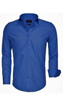 GAZNAWI Gaznawi  Overhemd 65008 LIGHT NAVY