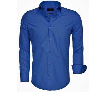 Gaznawi Shirt Long Sleeve 65008 Light Navy