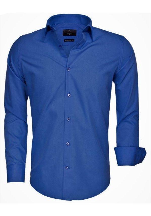 Shirt Long Sleeve 65008 Light Navy