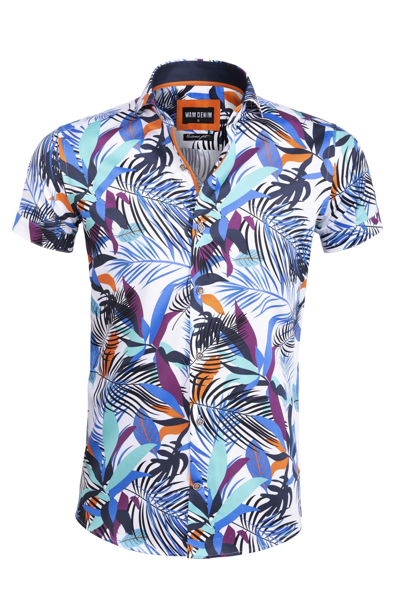 Shirt Bologna korte mouw Wam Denim