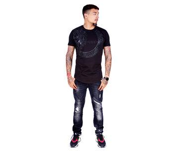 George V T-Shirt 577 Black