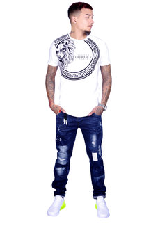 George V T-Shirt 577 White