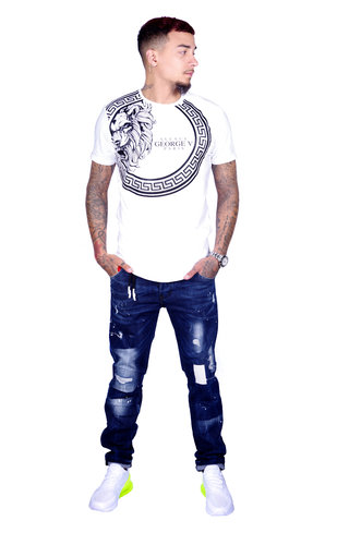 AVENUE GEORGE V PARIS T-Shirt 577 White