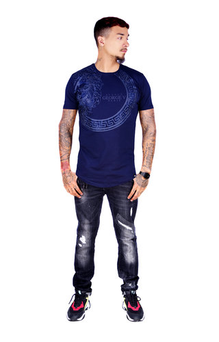 George V T-Shirt 577 Navy