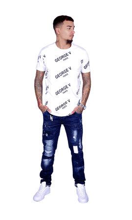 George V T-Shirt 519 White