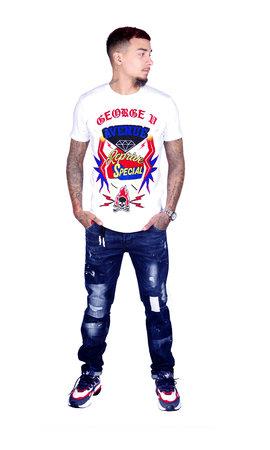 George V T-Shirt 539 White