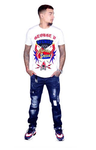 AVENUE GEORGE V PARIS T-Shirt 539 White