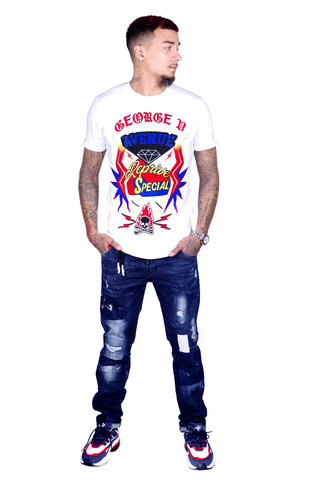 George V T-Shirt 539 White