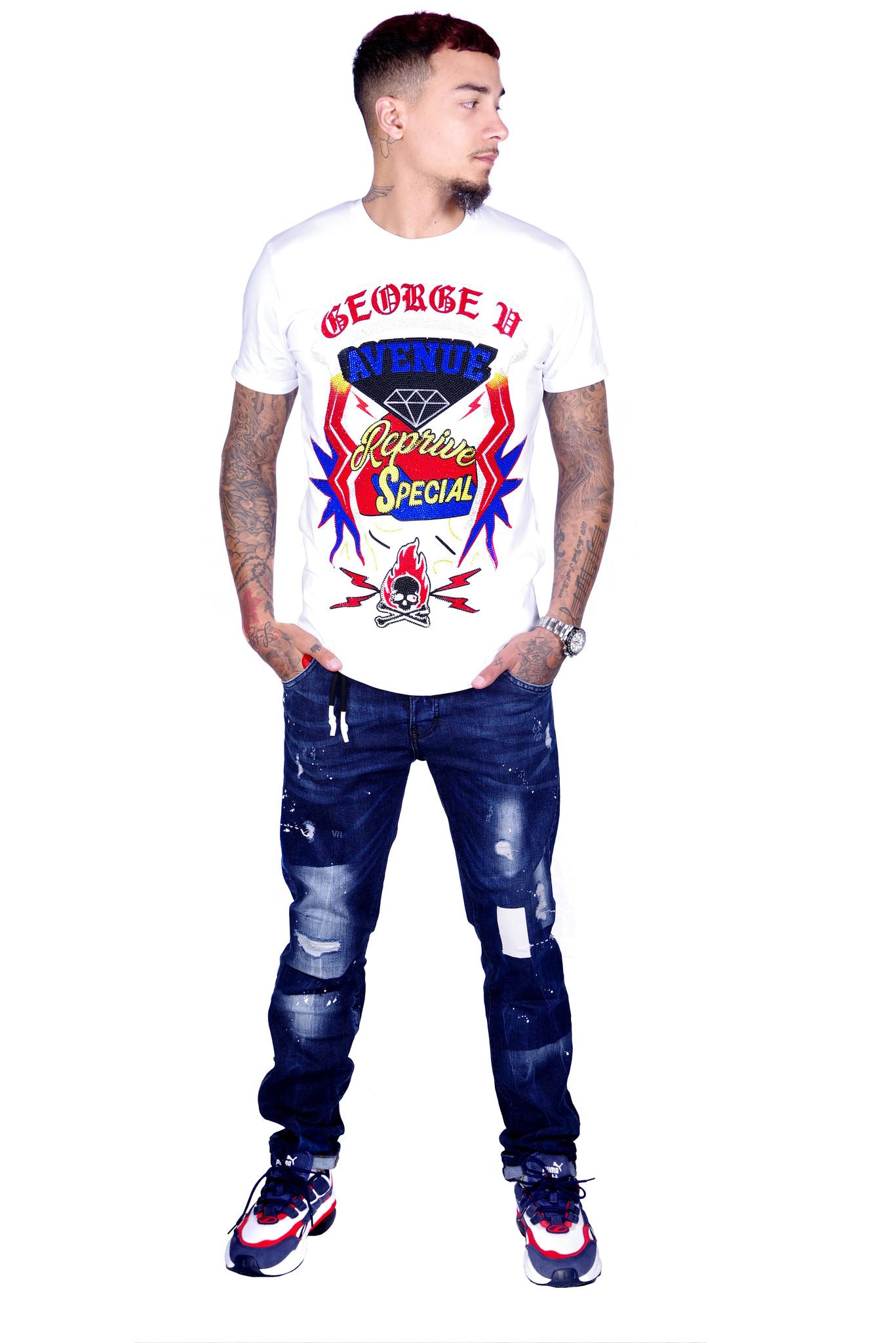 George V T-Shirt 539 White M
