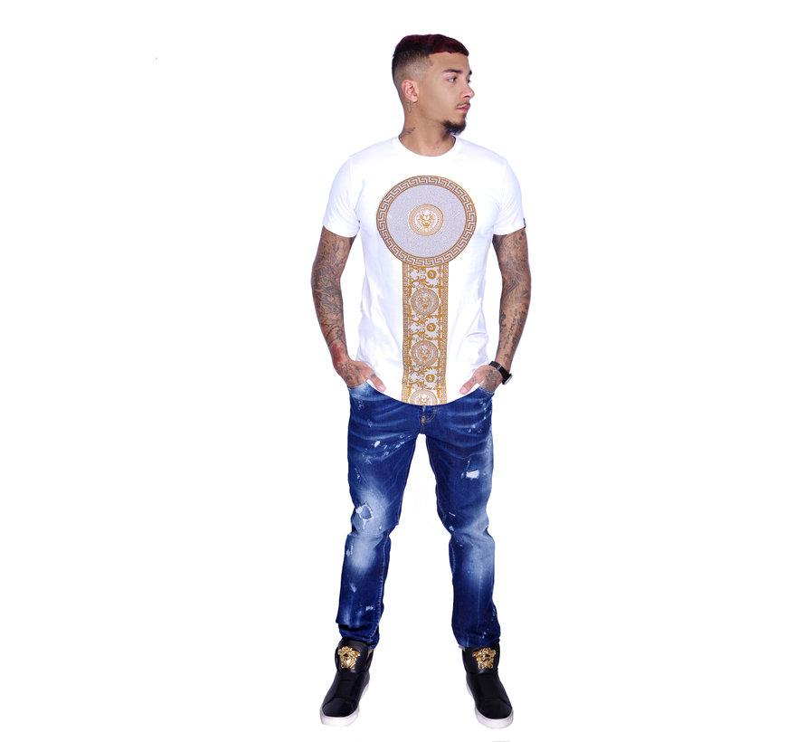T-Shirt 600 White Gold
