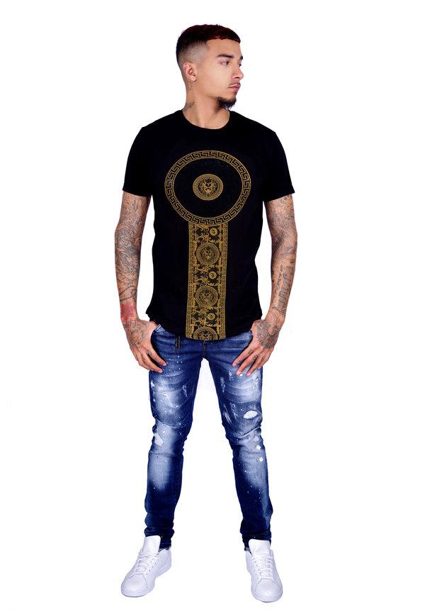 T-Shirt 600 Black Gold