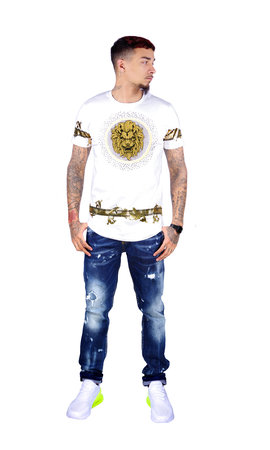 George V T-Shirt 565 White