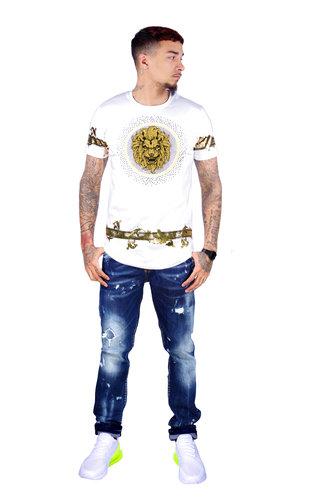 AVENUE GEORGE V PARIS T-Shirt 565 White