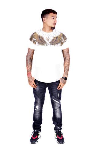 AVENUE GEORGE V PARIS T-Shirt 566 White