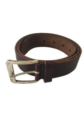 Wam Denim Riem 40007 Dark Brown