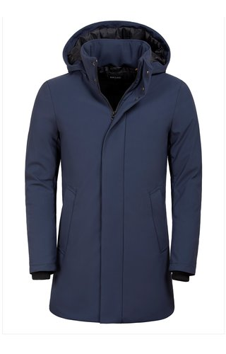 Wam Denim Winter Coat 71235 Navy