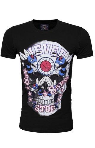 Arya Boy T-Shirt 89246 Black