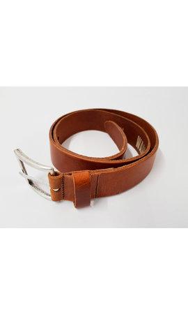 WAM DENIM Belt 40007 Cognac