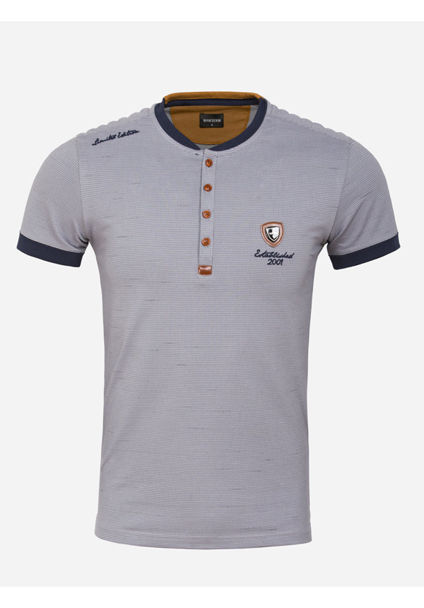 T-Shirt Rolle Grey