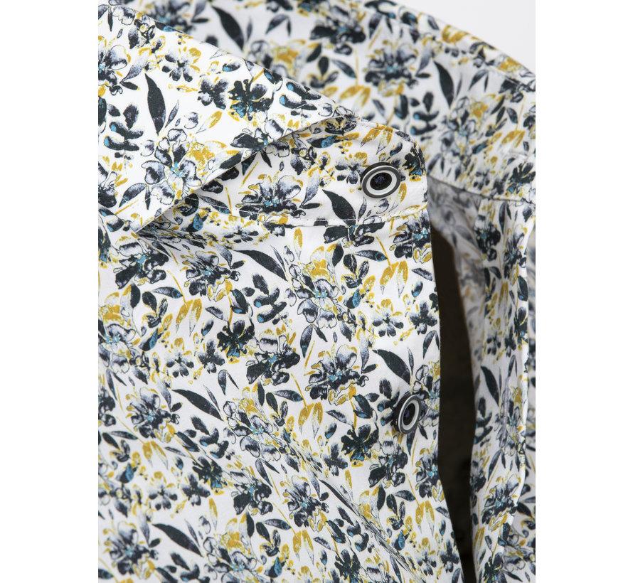 Overhemd Lange Mouw Salamanca White