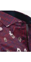 Shirt Long Sleeve 75635 Dark Red