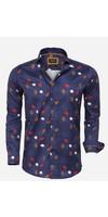Shirt Long Sleeve 75634 Braga Navy