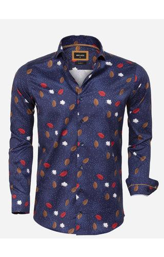 Wam Denim Shirt Long Sleeve 75634 Braga Navy