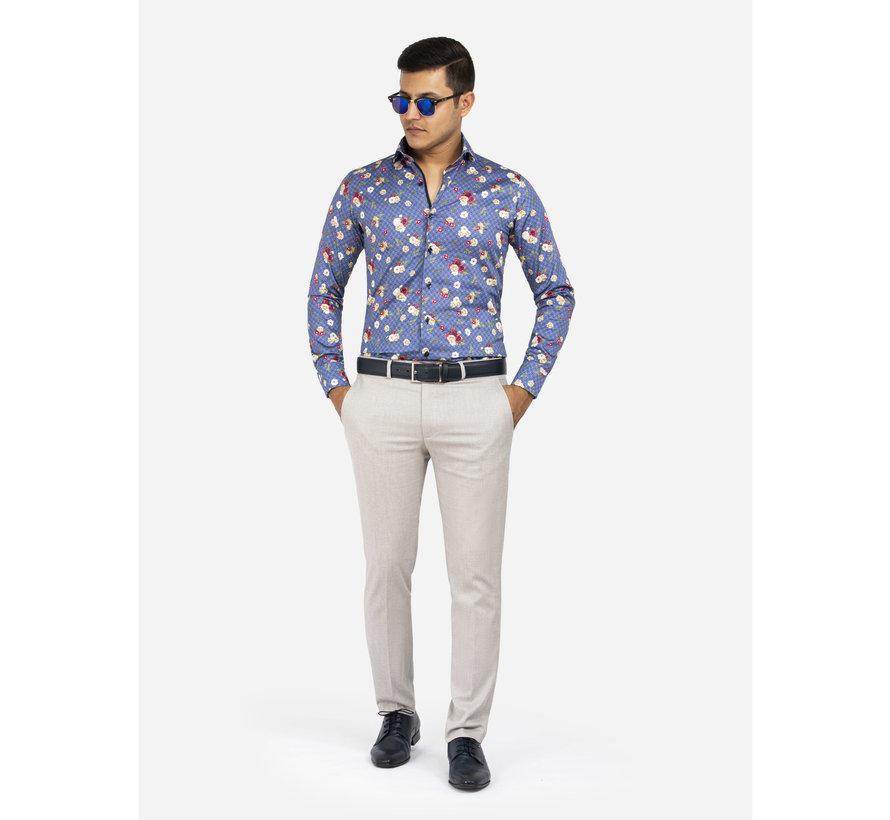 Overhemd Lange Mouw Amarante Dark Blue