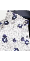Overhemd Lange Mouw 75645 Esmoriz White