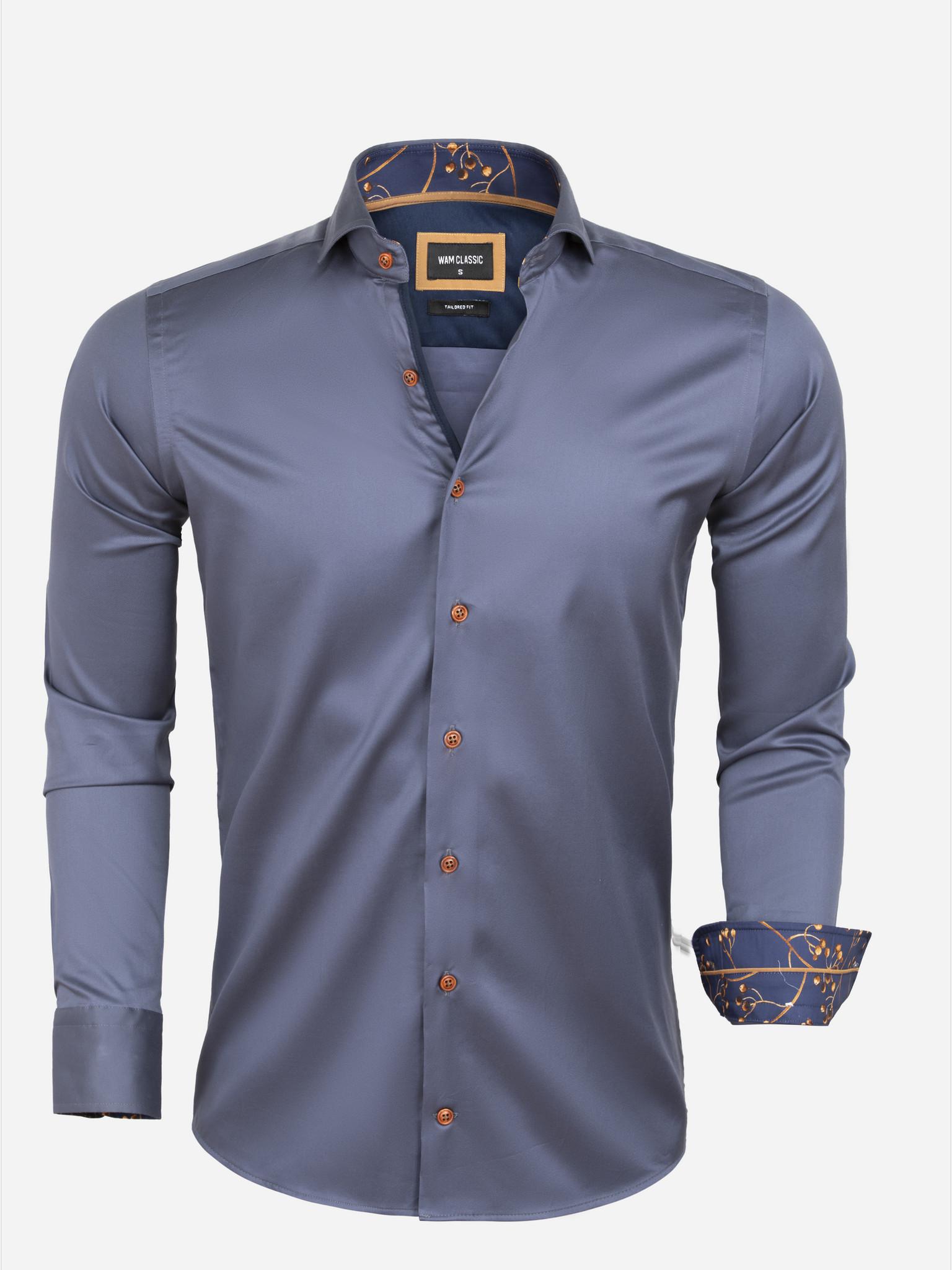 Overhemd Lange Mouw 75632 Aveiro Anthracite