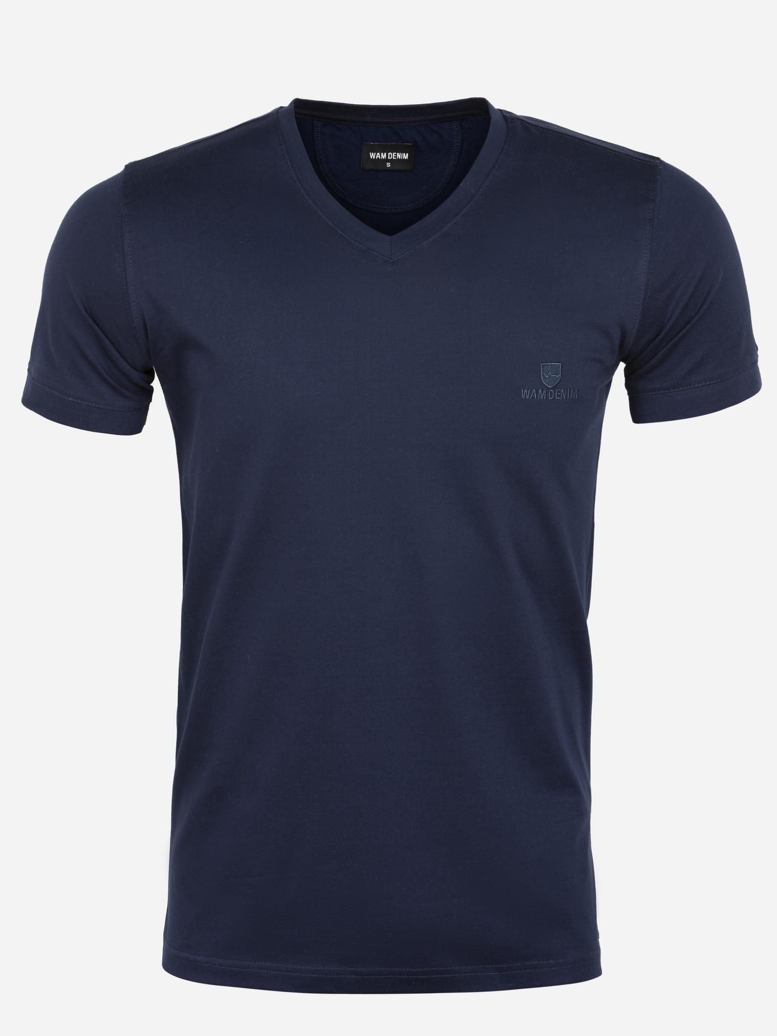 Wam Denim T-Shirt Lansing Navy Maat: XL