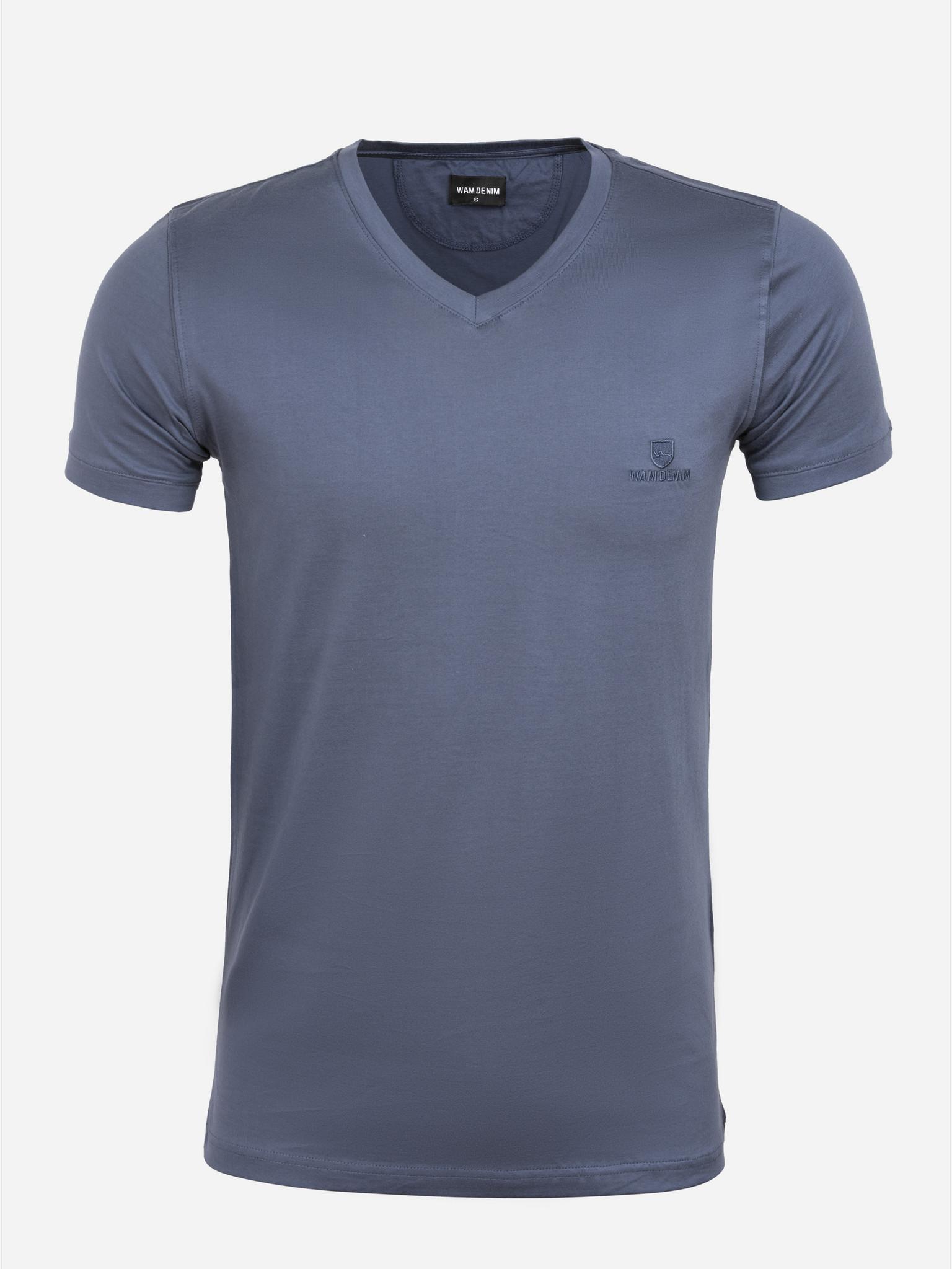Wam Denim T-Shirt Lansing Anthracite Maat: 4XL