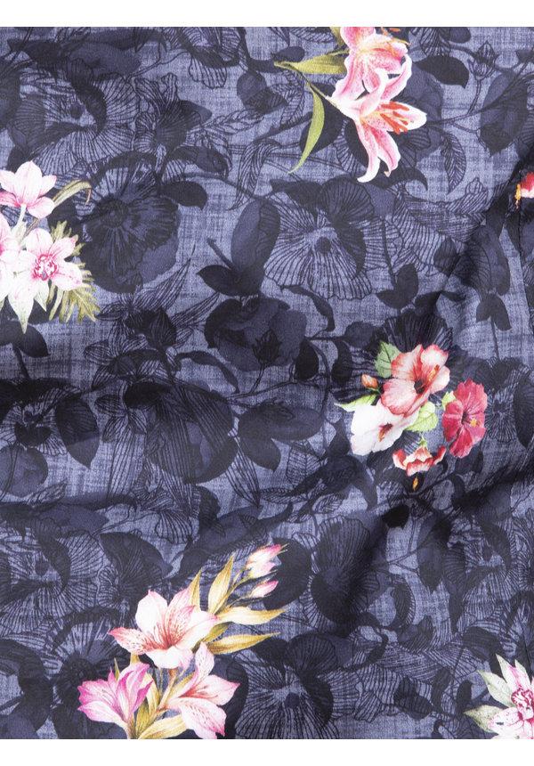Shirt Long Sleeve 75637 Amora Navy