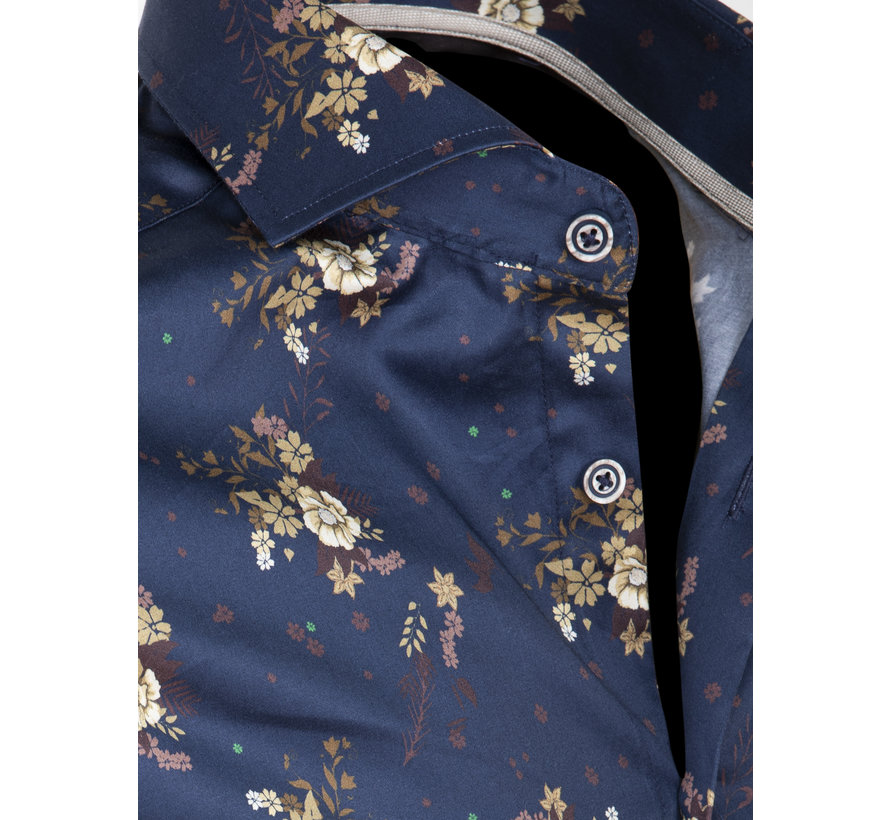 Overhemd Lange Mouw Anadia Navy