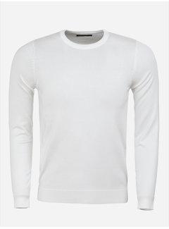 Blueberyl Sweater BK216-22 White