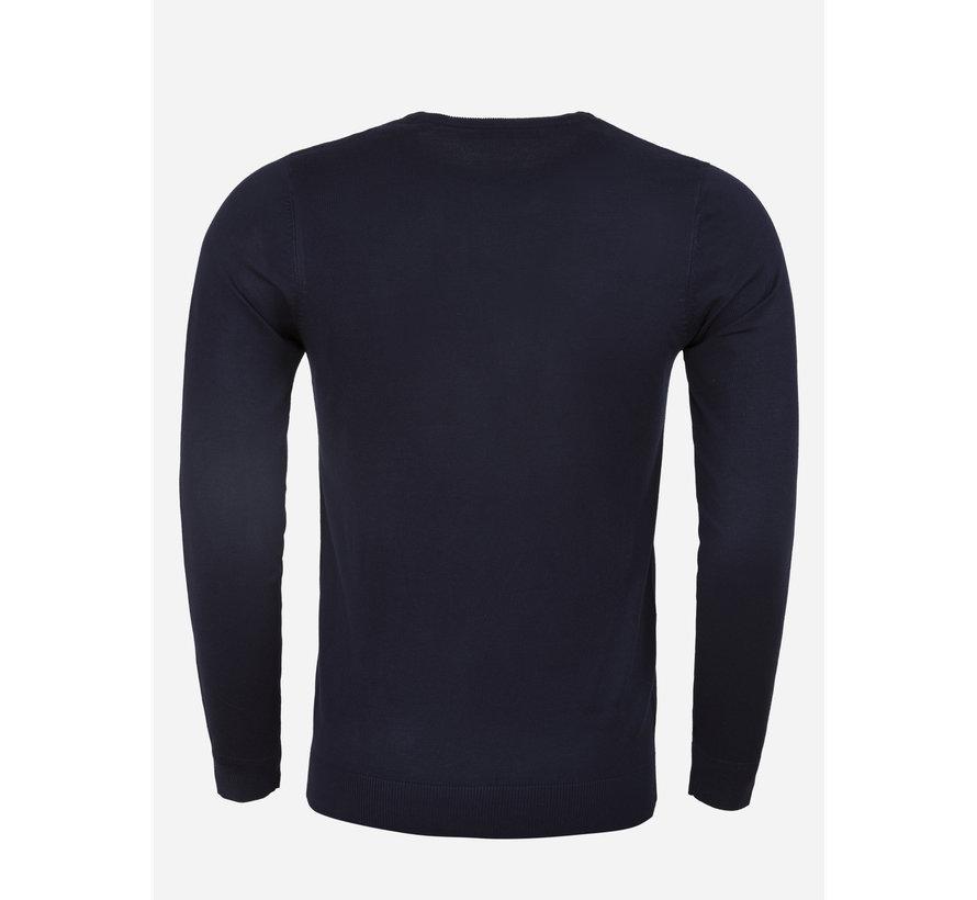 Sweater BK216-18 Blue