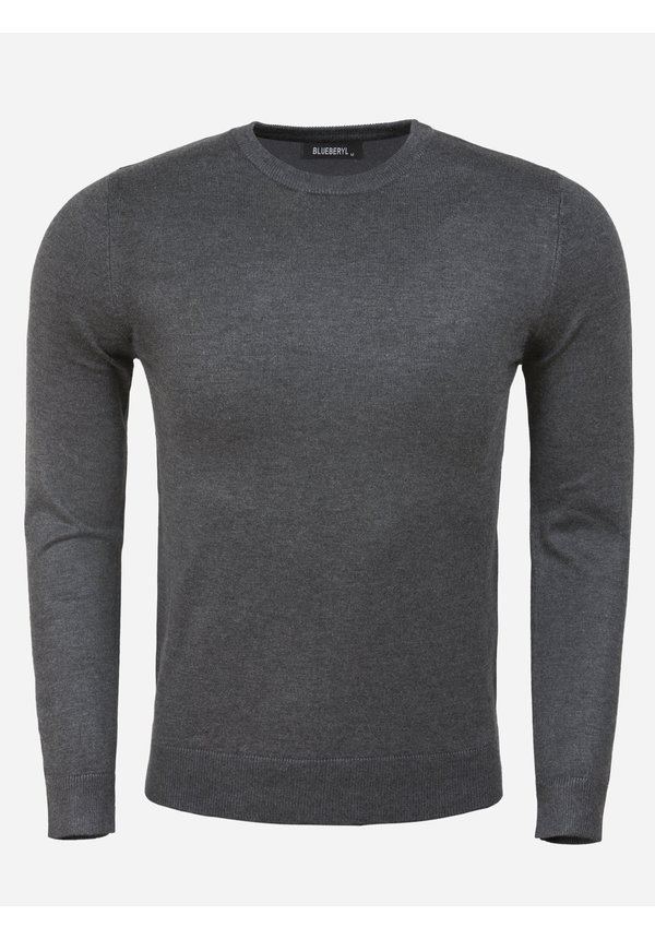 Sweater BK216-8 Anthracite