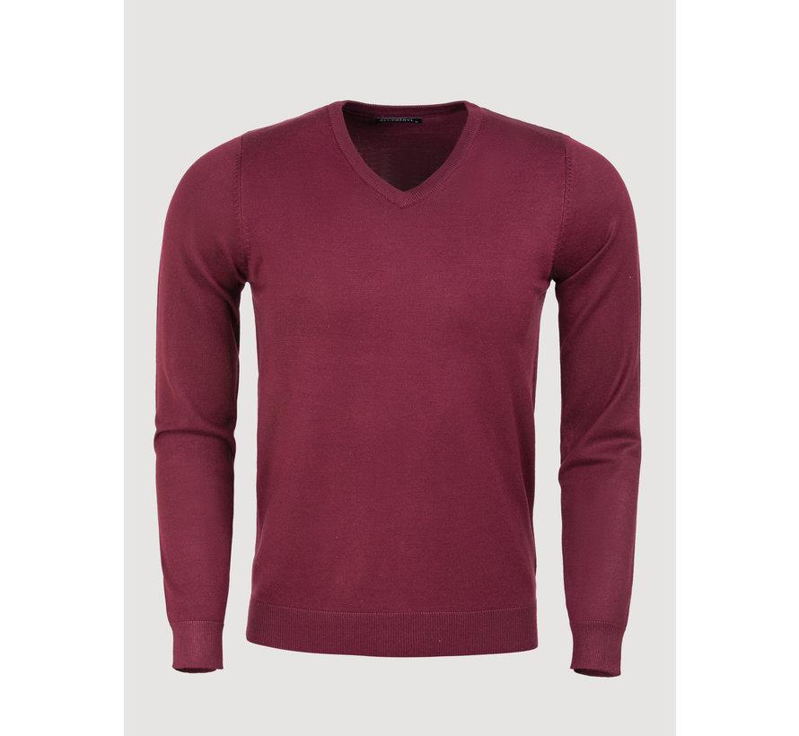 Sweater BK217-31 Dark Red