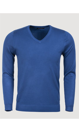 Blueberyl Sweater BK217-16 Dark Blue