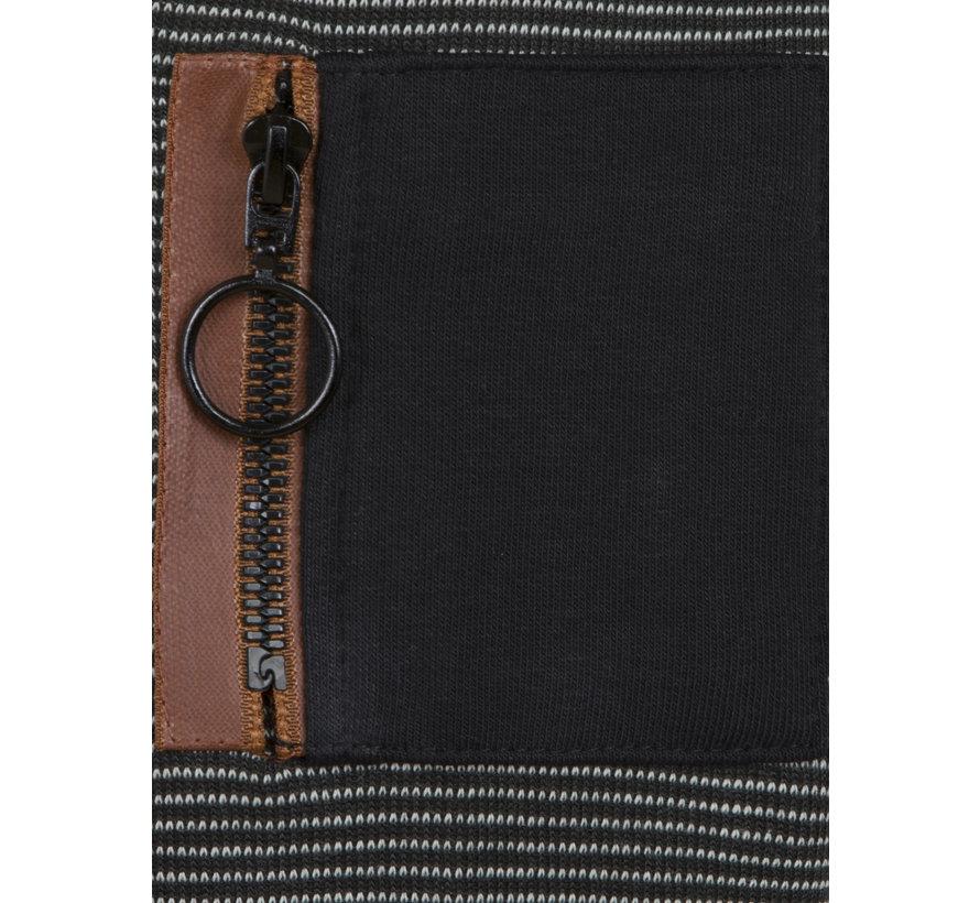 Sweater 76257 Waterbury Grey Black