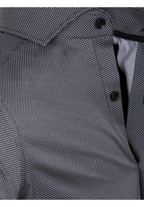 Overhemd Lange Mouw 75638 Barcelos Black