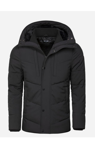 Wam Denim Winterjas 71237 Black