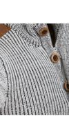 Sweater 77514 Tecoh Off White Brown