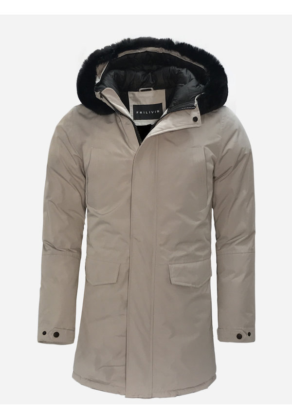 Winterjas FD852-4 Grey