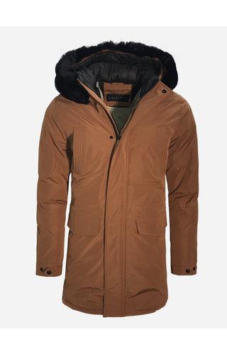Frilivin Winter Coat FD852-10 Camel