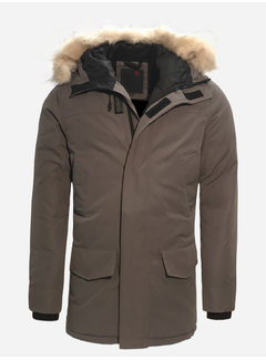 Arya Boy Winter Coat 1805 Light Grey