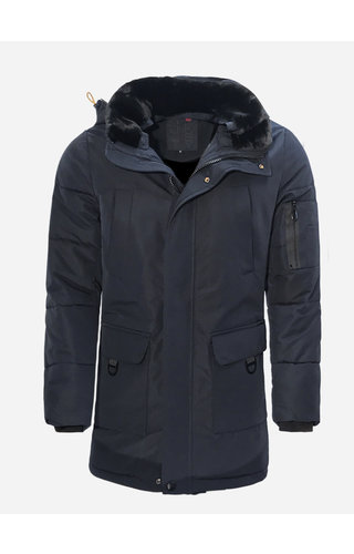 Just Key Winter Coat 5851 Blue