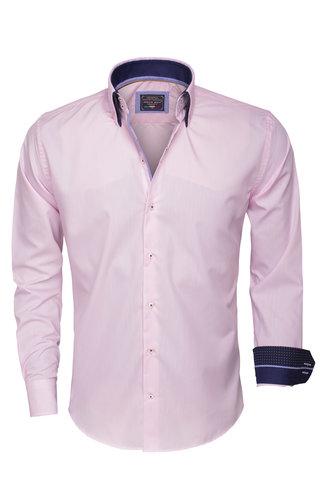 Arya Boy Overhemd Lange Mouw 85259 Pink