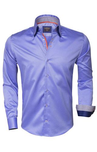 Wam Denim Overhemd Lange Mouw 75306 Dark Blue