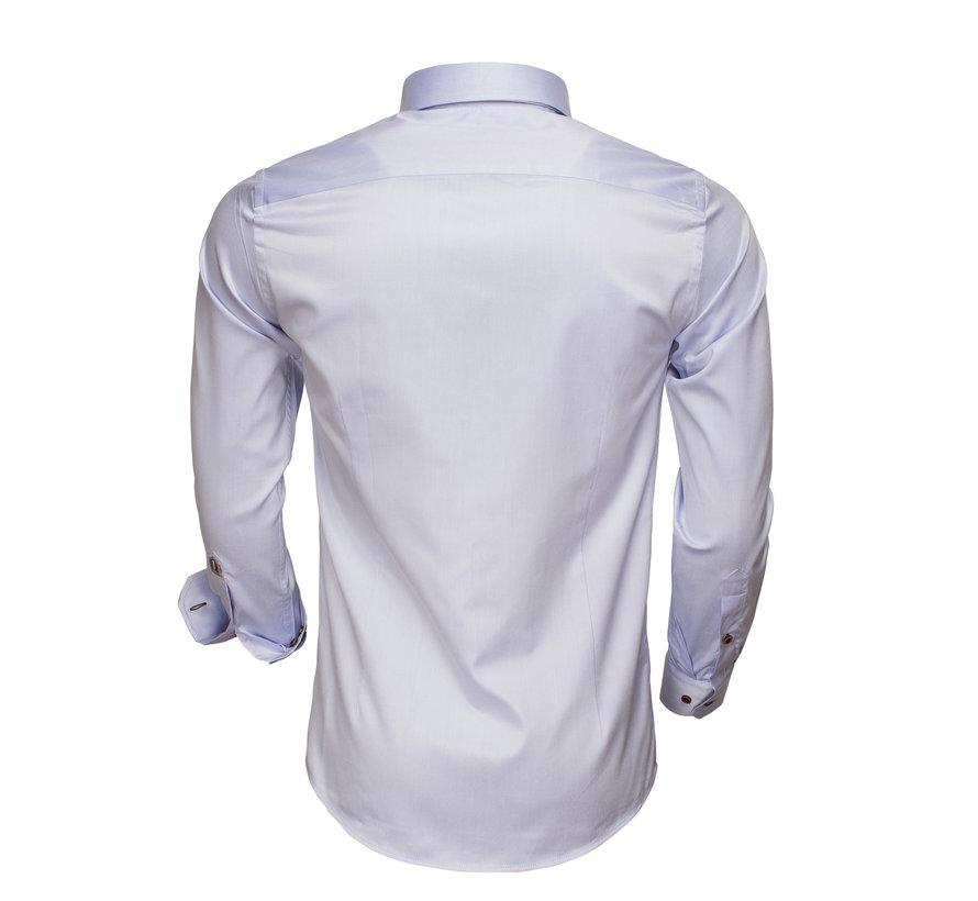 Overhemd Lange Mouw 75508 Light Blue